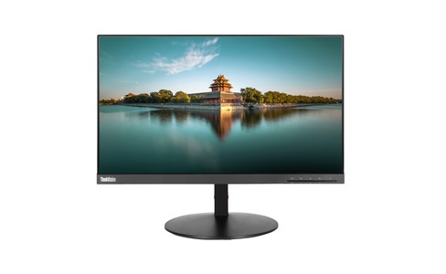 Lenovo ThinkVision T22i; 21.5 colių LCD 16:9 1920x1080 FHD VGA+HDMI+DP 1000:1 6ms 16,7mio