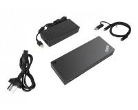 Lenovo ThinkPad Hybrid USB A/C Dock 2xDisplayPort 2xHDMI 2x3840x2160-60Hz 1Gbit LAN 1xUSB-C Front 5xUSB-A 2xUSB2.0 3xUSB3.0 (EU)