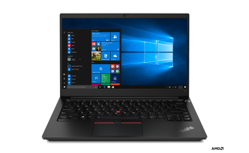 Lenovo ThinkPad E14 Gen2 AMD Ryzen 5 4500U; 14.0 colių FullHD (1920x1080) ekranas; 8GB RAM atminties 256GB UMA IR-Cam; Windows 10 Pro
